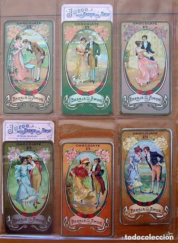 Barajas de cartas: Baraja del amor - Juego de mesa - Chocolates Pi - Completa, 50 cartas - ver fotos interiores - Foto 11 - 150109242