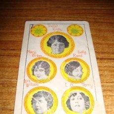 Barajas de cartas: NAIPE CARTA CROMO CHOCOLATES RIUCORD 7 OROS. Lote 150110326