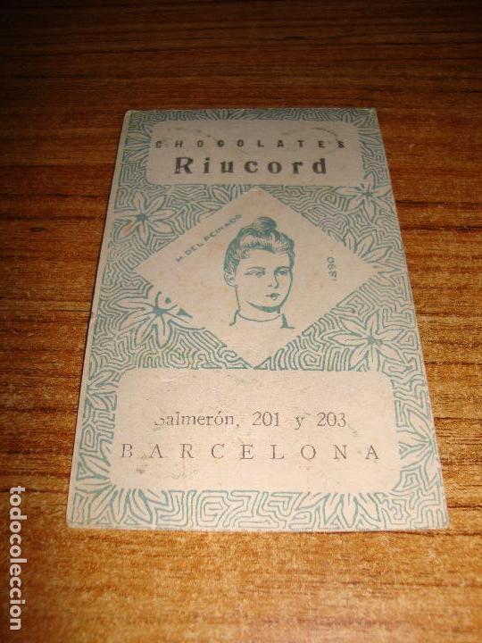Barajas de cartas: NAIPE CARTA CROMO CHOCOLATES RIUCORD 4 BASTOS LYONEL BARRYMORE - Foto 2 - 150110822