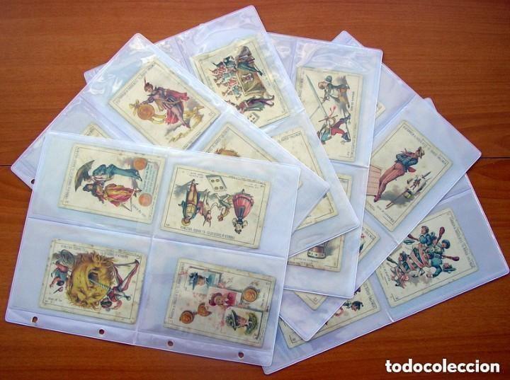 BARAJA CHOCOLATES EL BARCO - LA GRANDE, TAMAÑO 11,5X8 - COMPLETA, 48 CARTAS - VER FOTOS INTERIORES (Juguetes y Juegos - Cartas y Naipes - Baraja Española)