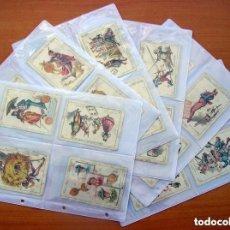 Barajas de cartas - Baraja Chocolates EL BARCO - La grande, tamaño 11,5x8 - COMPLETA, 48 cartas - Ver fotos interiores - 150111306