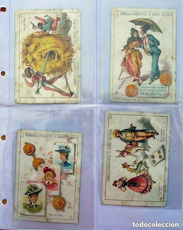 Barajas de cartas: Baraja Chocolates EL BARCO - La grande, tamaño 11,5x8 - COMPLETA, 48 cartas - Ver fotos interiores - Foto 2 - 150111306