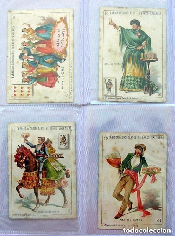 Barajas de cartas: Baraja Chocolates EL BARCO - La grande, tamaño 11,5x8 - COMPLETA, 48 cartas - Ver fotos interiores - Foto 7 - 150111306