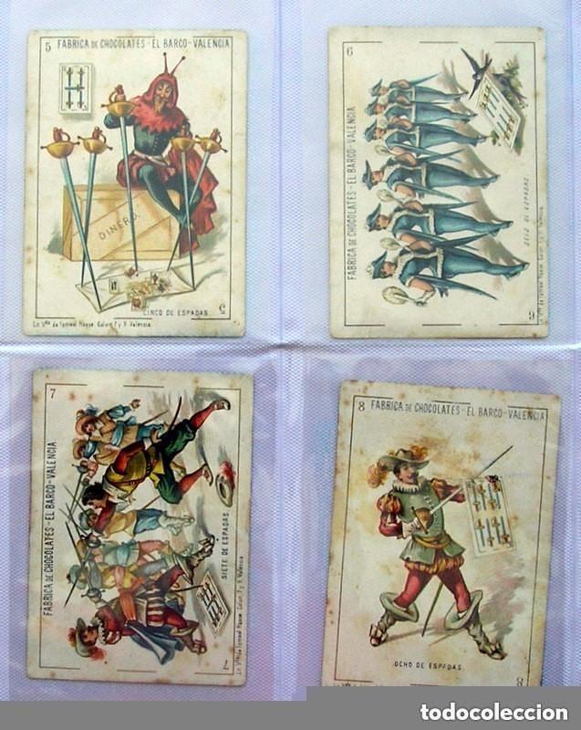 Barajas de cartas: Baraja Chocolates EL BARCO - La grande, tamaño 11,5x8 - COMPLETA, 48 cartas - Ver fotos interiores - Foto 9 - 150111306