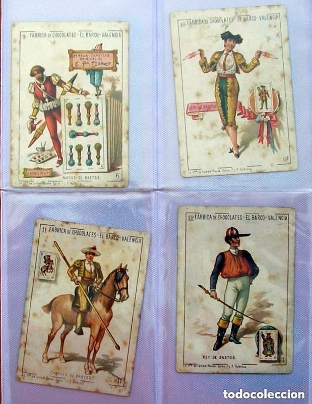 Barajas de cartas: Baraja Chocolates EL BARCO - La grande, tamaño 11,5x8 - COMPLETA, 48 cartas - Ver fotos interiores - Foto 13 - 150111306