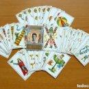 Barajas de cartas: BARAJA NIÑOS Y FÚTBOL - COMPLETA, 40 CARTAS - VER FOTOS Y EXPLICACIONES INTERIORES. Lote 150113242