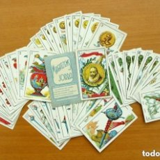 Barajas de cartas: BARAJA DON QUIJOTE, COMPLETA, 48 CARTAS TAMAÑO 9X6 CM. - PUBLICIDAD MAGATZEMS JORBA - VER FOTOS. Lote 150113534