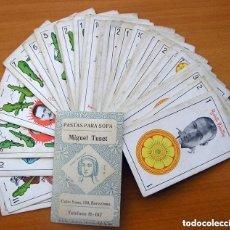 Barajas de cartas: BARAJA CINEMATOGRÁFICA, CINE - COMPLETA, 48 CARTAS - PASTAS PARA SOPAS MIGUEL TUSET - VER FOTOS. Lote 150113806