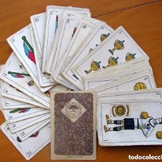 Barajas de cartas: BARAJA FÚTBOL, FUTBOLISTAS, FUTBOLISTICA - COMPLETA, 48 CARTAS - CHOCOLATE AMATLLER - VER FOTOS. Lote 150114174