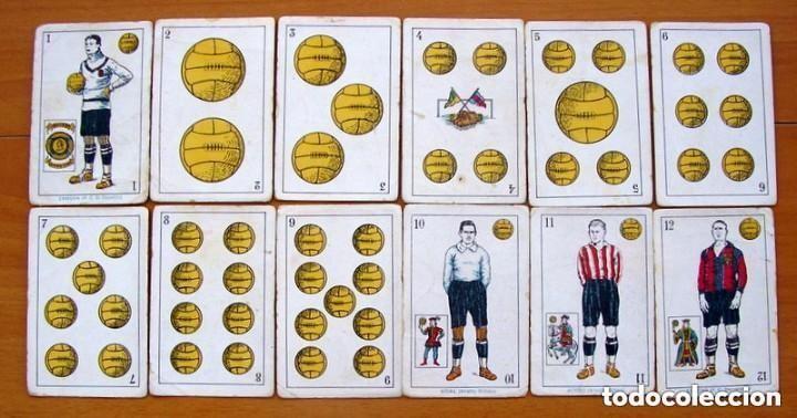 Barajas de cartas: Baraja Fútbol, futbolistas, futbolistica - Completa, 48 cartas - Chocolate Amatller - ver fotos - Foto 2 - 150114174