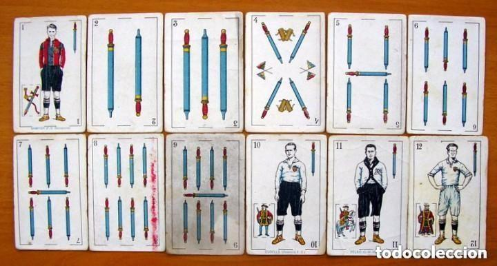 Barajas de cartas: Baraja Fútbol, futbolistas, futbolistica - Completa, 48 cartas - Chocolate Amatller - ver fotos - Foto 4 - 150114174