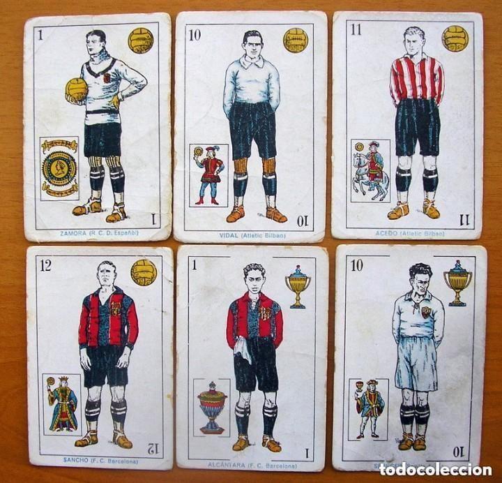 Barajas de cartas: Baraja Fútbol, futbolistas, futbolistica - Completa, 48 cartas - Chocolate Amatller - ver fotos - Foto 6 - 150114174