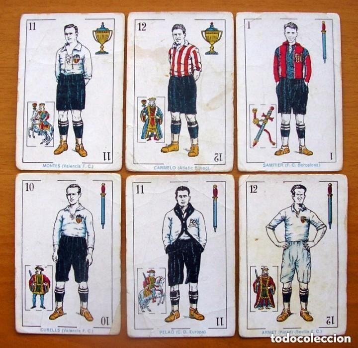 Barajas de cartas: Baraja Fútbol, futbolistas, futbolistica - Completa, 48 cartas - Chocolate Amatller - ver fotos - Foto 7 - 150114174