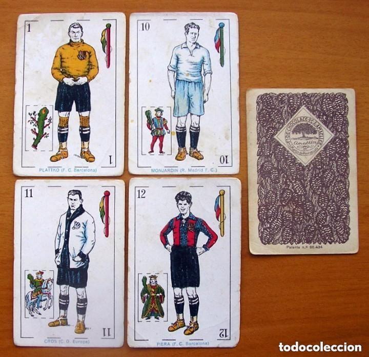 Barajas de cartas: Baraja Fútbol, futbolistas, futbolistica - Completa, 48 cartas - Chocolate Amatller - ver fotos - Foto 8 - 150114174