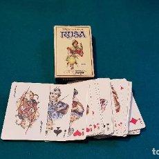 Barajas de cartas: BARAJA DE POKER TRADICIONAL RUSA (COMPLETA). Lote 150114710