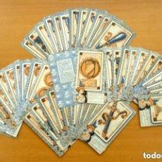 Barajas de cartas: BARAJA CHOCOLATE NELIA - BENITA LA BRUJA - COMPLETA, 48 CARTAS TAMAÑO 13X7,5 - VER FOTOS. Lote 160992281
