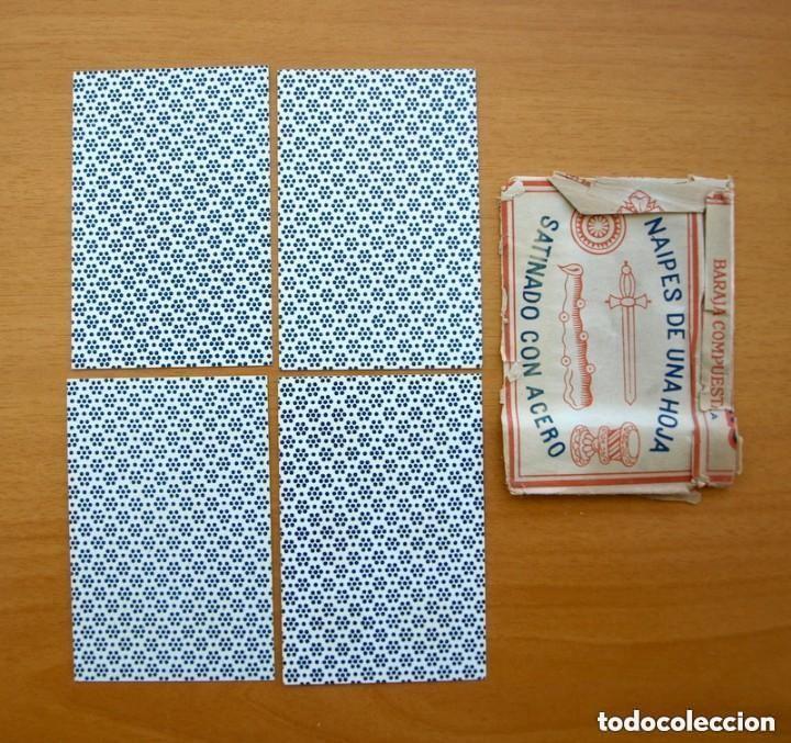 Barajas de cartas: Baraja Naipes Comas 1947 marca Gallo - Completa 40 cartas - Ver fotos interiores - Foto 3 - 150116402