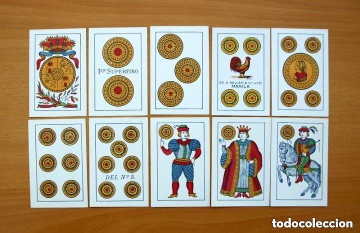 Barajas de cartas: Baraja Naipes Comas 1947 marca Gallo - Completa 40 cartas - Ver fotos interiores - Foto 5 - 150116402