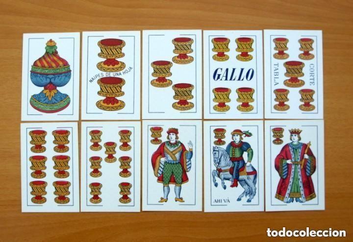 Barajas de cartas: Baraja Naipes Comas 1947 marca Gallo - Completa 40 cartas - Ver fotos interiores - Foto 6 - 150116402