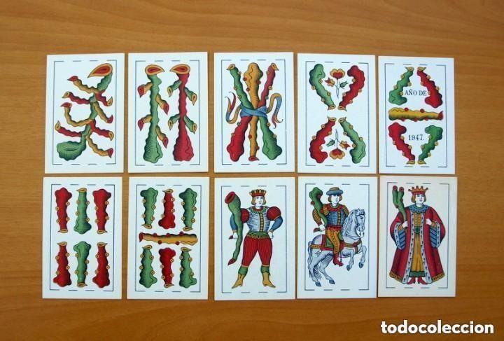 Barajas de cartas: Baraja Naipes Comas 1947 marca Gallo - Completa 40 cartas - Ver fotos interiores - Foto 8 - 150116402