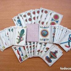 Barajas de cartas: BARAJA NAYPES REFINOS - AÑO 1878 - COMPLETA 48 CARTAS - VER FOTOS INTERIORES. Lote 150116650