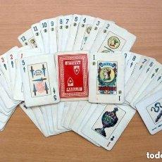 Barajas de cartas: BARAJA NAIPES COMAS PUBLICIDAD PIRELLI - COMPLETA 48 CARTAS - VER FOTOS INTERIORES. Lote 150116918