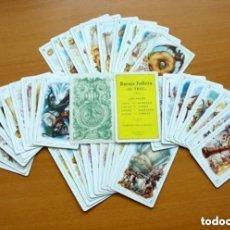 Barajas de cartas: BARAJA FALLERA EL TRUC - COMPLETA, 40 CARTAS - VER FOTOS Y EXPLICACIONES INTERIORES. Lote 150118846