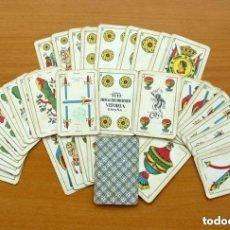 Barajas de cartas: BARAJA HERACLIO FOURNIER - MARCA TITI - COMPLETA 40 CARTAS - VER FOTOS INTERIORES. Lote 150119122