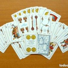 Barajas de cartas: BARAJA MOROS Y CRISTIANOS DE ALCOY - COMPLETA 40 CARTAS - VER FOTOS INTERIORES. Lote 150119434