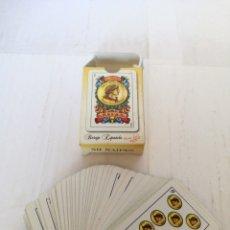 Barajas de cartas: BARAJA ESPAÑOLA CARTAS MINIATURA NAIPES GABRIEL FUENTES LL0129-M 50. Lote 150119484