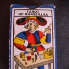 Barajas de cartas: TAROT DE MARSELLA. ANCIEN TAROT DE MARSEILLE. GRIMAUD.. Lote 150120494