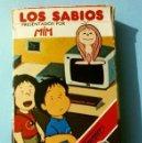 Barajas de cartas: LOS SABIOS - BARAJA INFANTIL - NAIPES FOURNIER - JUEGO DE CARTAS (AÑO 1983) PRESENTADOS POR MIM. Lote 150142030