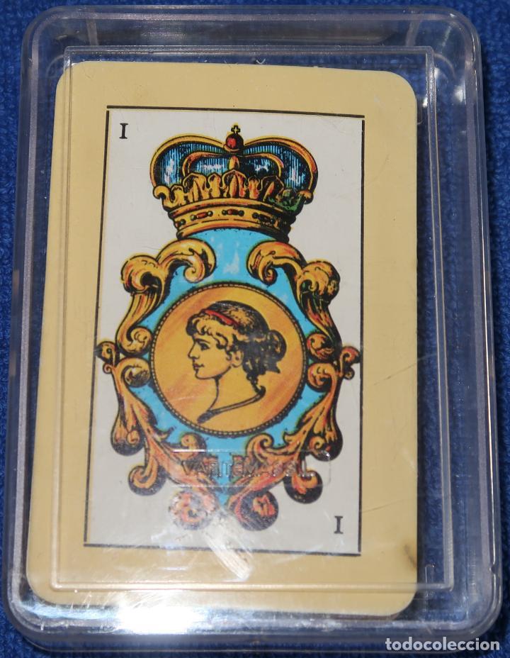MINI BARAJA ESPAÑOLA - GABRIEL FUENTES ¡RARA! ¡CARTAS IMEPCABLES! (Juguetes y Juegos - Cartas y Naipes - Baraja Española)