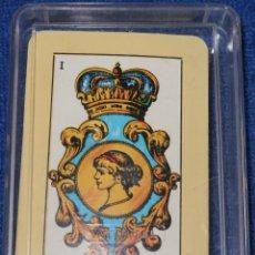 Barajas de cartas: MINI BARAJA ESPAÑOLA - GABRIEL FUENTES ¡RARA! ¡CARTAS IMEPCABLES!. Lote 150146630