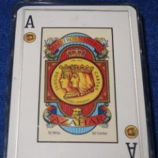 Barajas de cartas: BARAJA ESPAÑOLA AZAHAR - MAESTROS NAIPEROS ¡CARTAS IMEPCABLES!. Lote 150146798