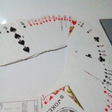 Barajas de cartas: BARAJA DE CARTAS PARA BRIDGE Y POKER SIN USAR. Lote 150168870