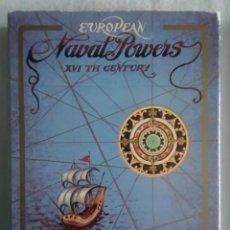 Barajas de cartas: BARAJA EUROPEAN NAVAL POWERS XVI CENTURY FOURNIER. Lote 150180550