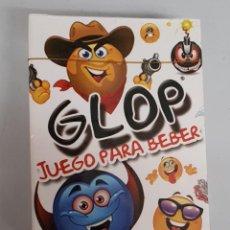 Barajas de cartas: GLOP : JUEGO PARA BEBER / GLOPGAME - NUEVO PRECINTADO. Lote 150212302