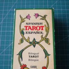 Barajas de cartas: TAROT ESPAÑOL. BILINGÜE. FOURNIER. . Lote 150355182