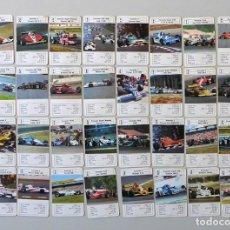 Mazzi di carte: BARAJA DE CARTAS COCHES DE CARRERAS, AÑOS 80, FOURNIER, COMPLETA. Lote 150515606