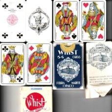 Barajas de cartas: BARAJAS DE POKER LOS ESCUDOS DE HIJOS H. FOURNIER + LOS ESCUDOS DE HERACLIO FOURNIER. Lote 150570622