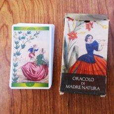 Barajas de cartas: TAROT. ORÁCULO DE LA MADRE NATURALEZA DE ORBIS FABBRI 32 CARTAS. Lote 150606010