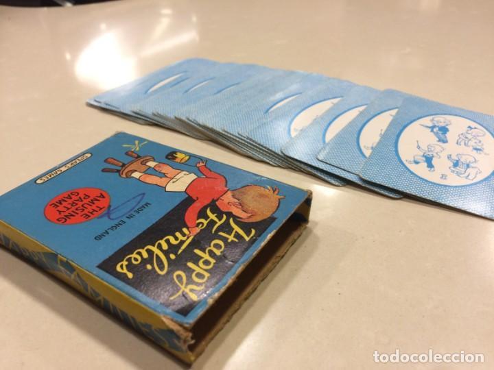 HAPPY FAMILIES CARD GAME ~ SPEARS GAMES - FABRICADO EN INGLATERRA - VINTAGE (Juguetes y Juegos - Cartas y Naipes - Barajas Infantiles)