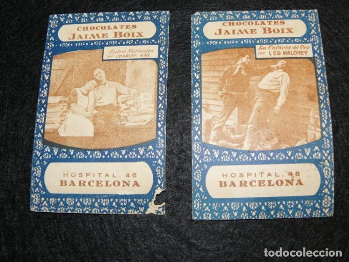 Barajas de cartas: 4 ANTIGUAS CARTAS DE BARAJA- CINE -CHOCOLATES JAIME BOIX - Foto 5 - 150673578