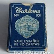 Barajas de cartas: BARAJA TURISMO Nº 101. FOURNIER. Lote 150713345
