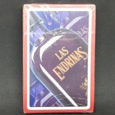 Barajas de cartas: NAIPE - CARTAS - ESPAÑOL - PUBLICIDAD LAS ENDRINAS - FOURNIER - PRECINTADAS - CAR01. Lote 150788901