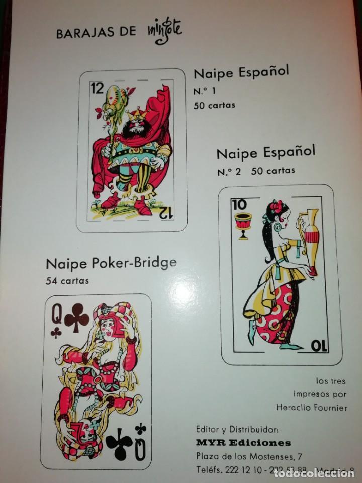 Barajas de cartas: ANTONIO MINGOTE- EL MUS,REGLAMENTO.TECNICA,VOCAVULARIO - Foto 9 - 150838246