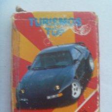 Baralhos de cartas: BARAJA CARTAS - JUEGO INFANTIL: TURISMOS TOP ( COCHES ) , DE HERACLIO FOURNIER, 1991. Lote 150857762