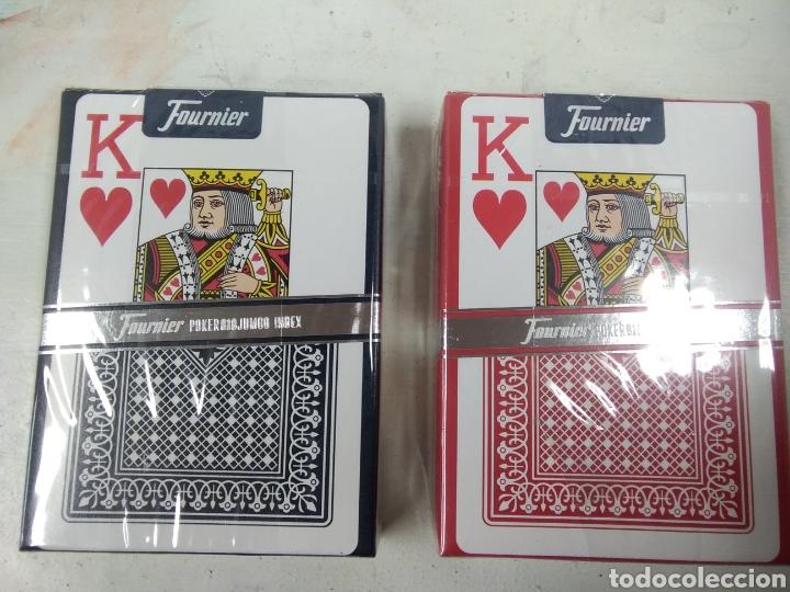 Barajas de cartas: Baraja 55 cartas poker Fournier 4 euros/und - Foto 2 - 150981429