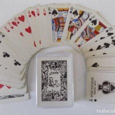 Barajas de cartas: LIBRERIA GHOTICA. BARAJA DE CARTAS DE POKER. LA HISPANO AMERICANA.JUAN ROURA. BARCELONA. 1940.. Lote 151010662